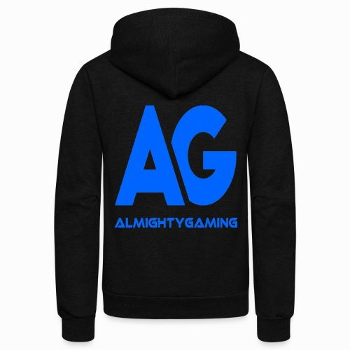 AlmightyGaming (Blue Edition!) - Unisex Fleece Zip Hoodie