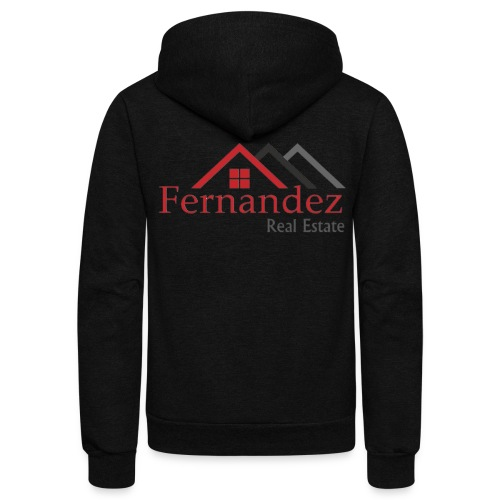 Fernandez Real Estate - Unisex Fleece Zip Hoodie