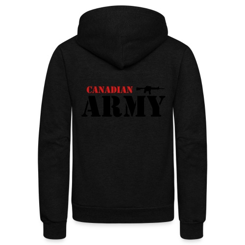 Canadian Army - Unisex Fleece Zip Hoodie