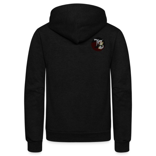 Time Spill Trademark - Unisex Fleece Zip Hoodie