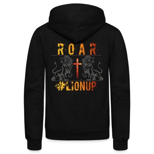 ROAR MENS GROUP - Unisex Fleece Zip Hoodie