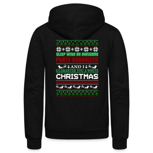 UGLY SWEATER PARTY ORGANIZER T-SHIRTS - Unisex Fleece Zip Hoodie