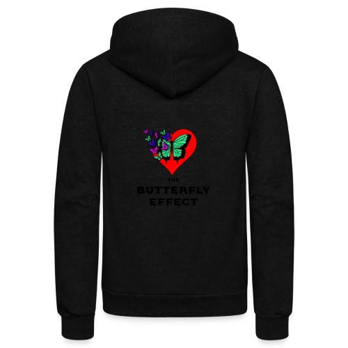 The Butterfly Effect ~ OTG - Unisex Fleece Zip Hoodie