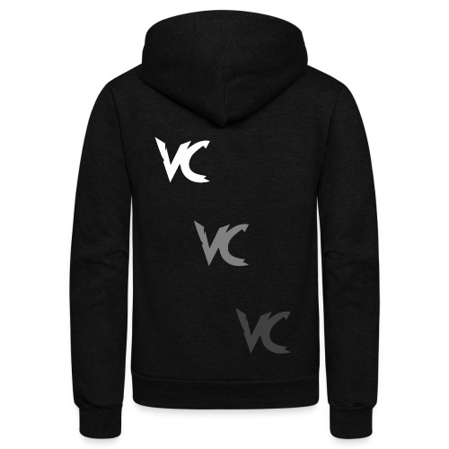 V3L0C1TY Logo Mugs & Drinkware - Unisex Fleece Zip Hoodie