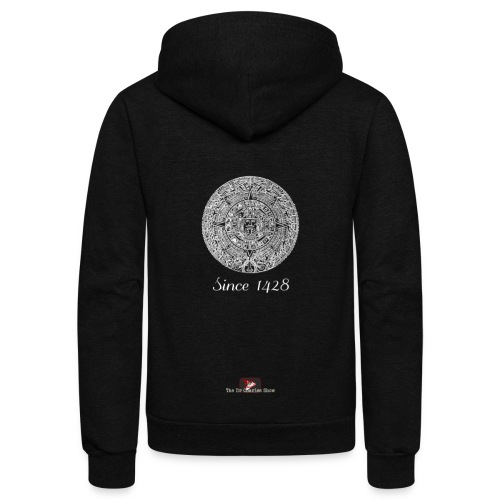 Since 1428 Aztec Design! - Unisex Fleece Zip Hoodie