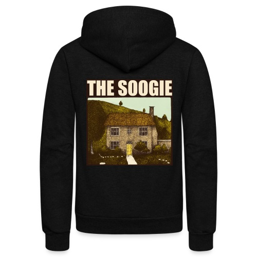 Cabbit House Faux Vintage T Shirt by The Soogie - Unisex Fleece Zip Hoodie