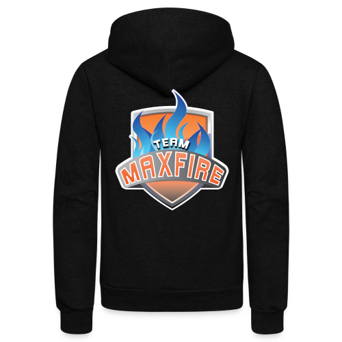 Team Max Fire - Unisex Fleece Zip Hoodie