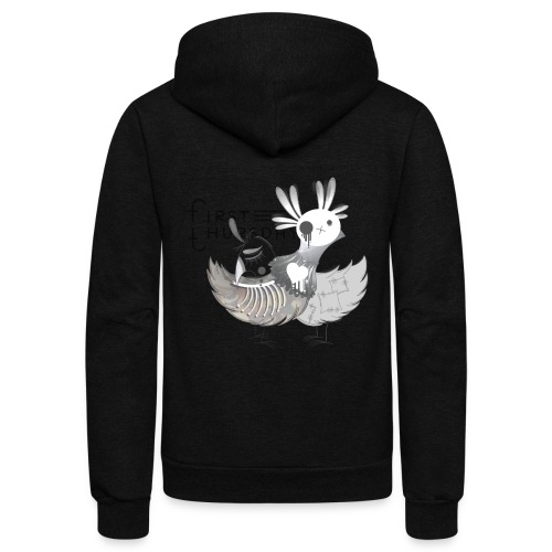 Lovebirds - Unisex Fleece Zip Hoodie