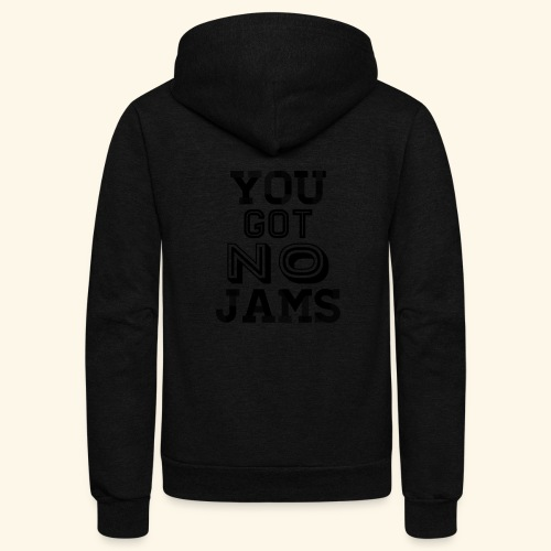 BTS You Got No Jams Hippy Design - Unisex Fleece Zip Hoodie