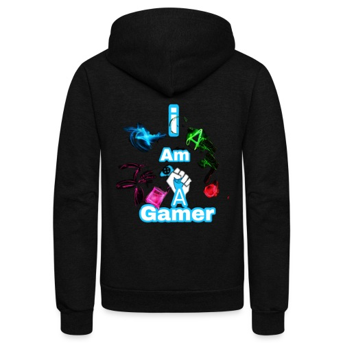 I am a gear - Unisex Fleece Zip Hoodie