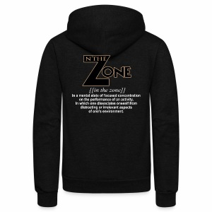 in the zone definition 1 - Unisex Fleece Zip Hoodie
