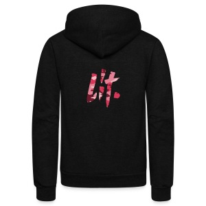 Lit. Edition - Unisex Fleece Zip Hoodie