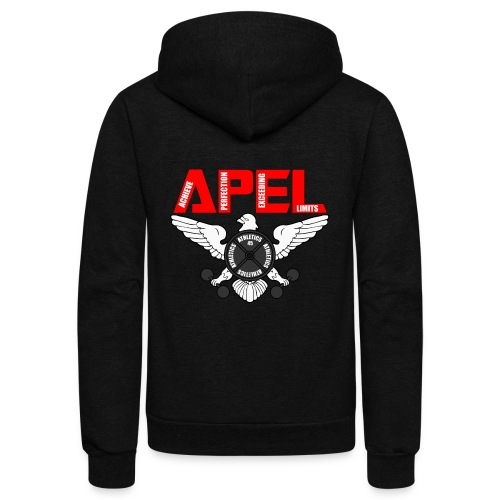 APEL RED - Unisex Fleece Zip Hoodie