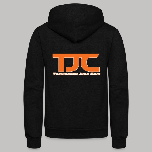 TJCorangeBASIC - Unisex Fleece Zip Hoodie