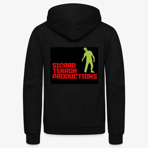 Sicard Terror Productions Merchandise - Unisex Fleece Zip Hoodie