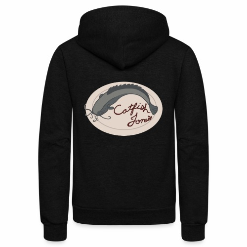 Fish Painting - Unisex Fleece Zip Hoodie