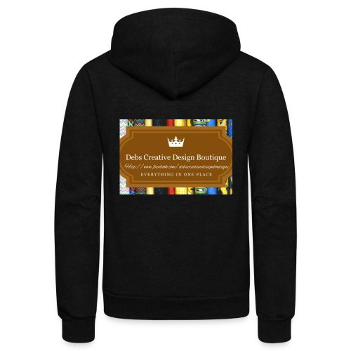 Debs Creative Design Boutique with site - Unisex Fleece Zip Hoodie
