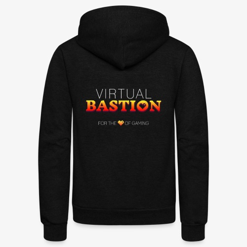 Virtual Bastion: For the Love of Gaming - Unisex Fleece Zip Hoodie