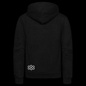 Symbol Of Love - Unisex Fleece Zip Hoodie