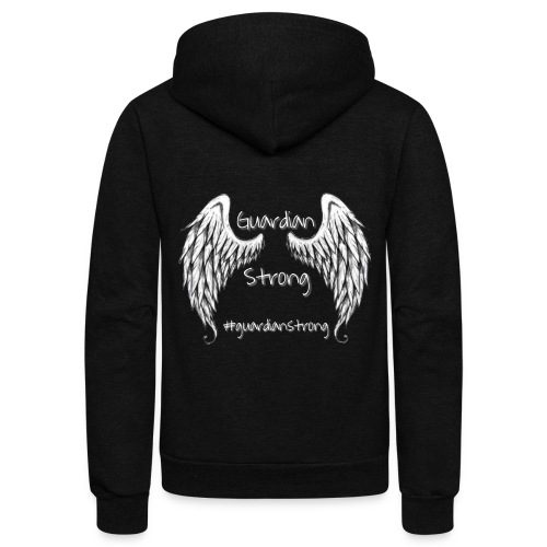 #GuardianStrong Movement - Unisex Fleece Zip Hoodie