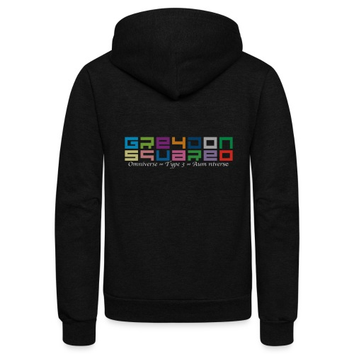 colorfulLOGO2 png - Unisex Fleece Zip Hoodie