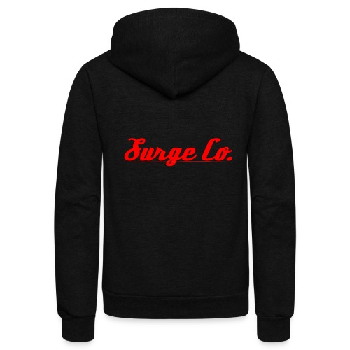 Surge Co. - Unisex Fleece Zip Hoodie