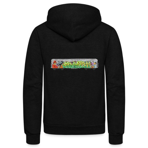 NicOne - NY Graff Design - Unisex Fleece Zip Hoodie