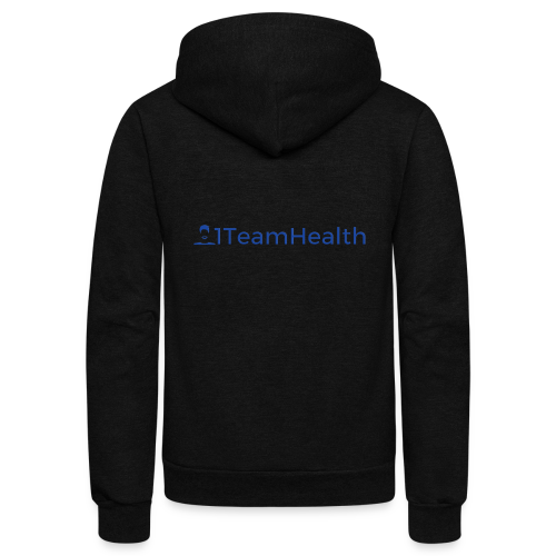 1TeamHealth Simple - Unisex Fleece Zip Hoodie