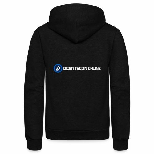 Digibyte online light - Unisex Fleece Zip Hoodie