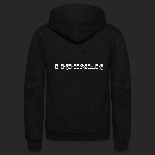 Wicked Dano Trainer Design - Unisex Fleece Zip Hoodie