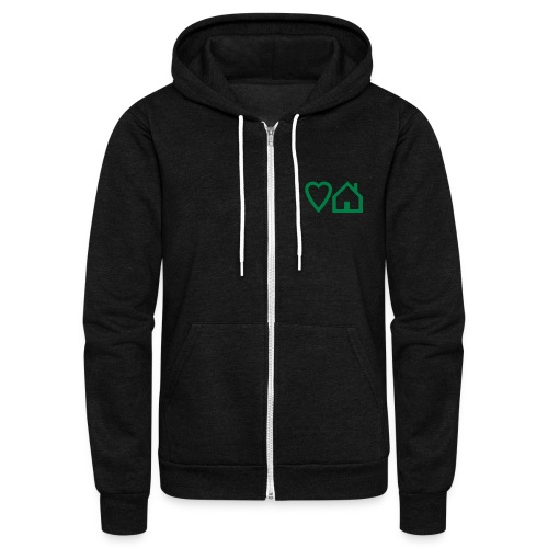 ts-3-love-house-music - Unisex Fleece Zip Hoodie
