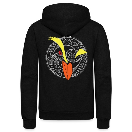 KORU LOGO LIGHT - Unisex Fleece Zip Hoodie