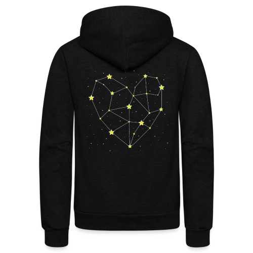 Heart in the Stars - Unisex Fleece Zip Hoodie