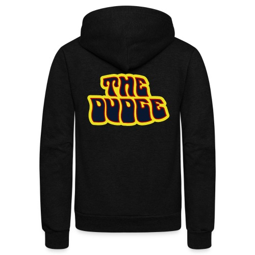 The Dudge - Unisex Fleece Zip Hoodie
