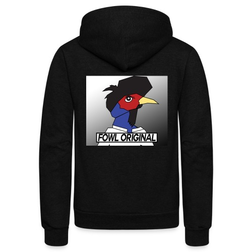 Fowl Original Logo - Unisex Fleece Zip Hoodie