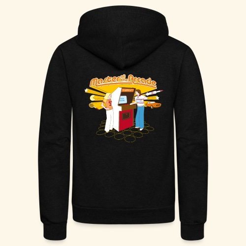 Master of the Arcade - Unisex Fleece Zip Hoodie