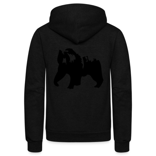 Grizzly bear - Unisex Fleece Zip Hoodie