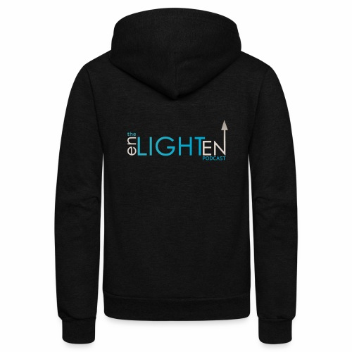 The enLIGHTenUP Podcast - Unisex Fleece Zip Hoodie
