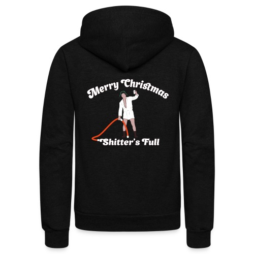Cousin Eddie - Shitter's Full! - Unisex Fleece Zip Hoodie