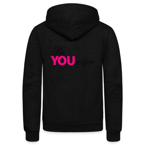Be Unique Be You Just Be You - Unisex Fleece Zip Hoodie