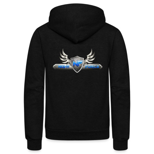 Nova Force Logo - Unisex Fleece Zip Hoodie