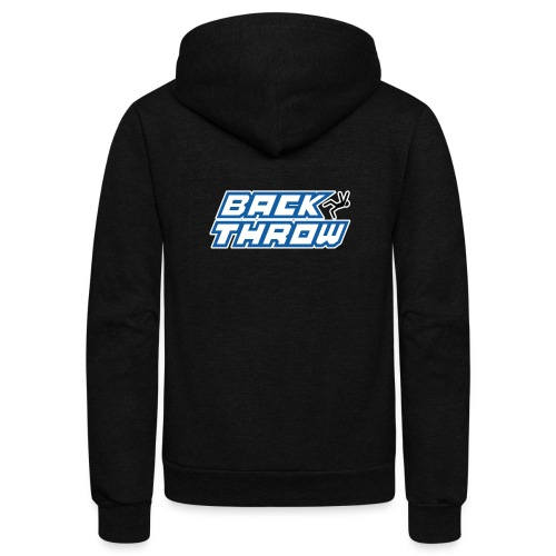 Back Throw Logo - Unisex Fleece Zip Hoodie