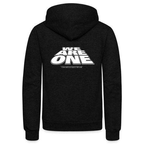 We are One 2 - Unisex Fleece Zip Hoodie