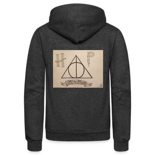 Deathly Hallows - Unisex Fleece Zip Hoodie
