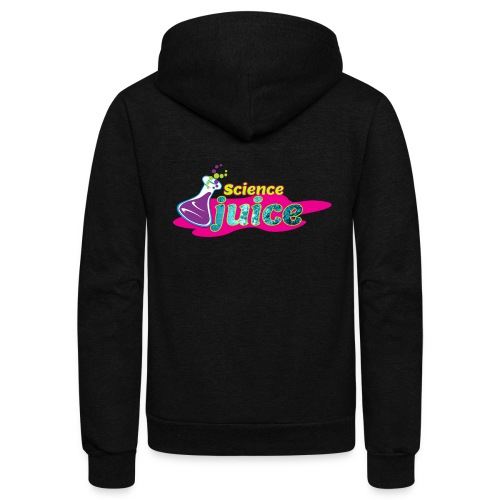 Science Juice - Unisex Fleece Zip Hoodie