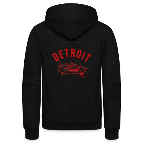 Detroit Art Project - Unisex Fleece Zip Hoodie