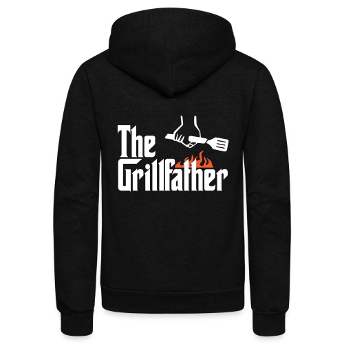 The Grillfather - Unisex Fleece Zip Hoodie
