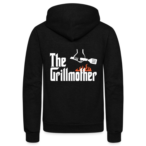 The Grillmother - Unisex Fleece Zip Hoodie