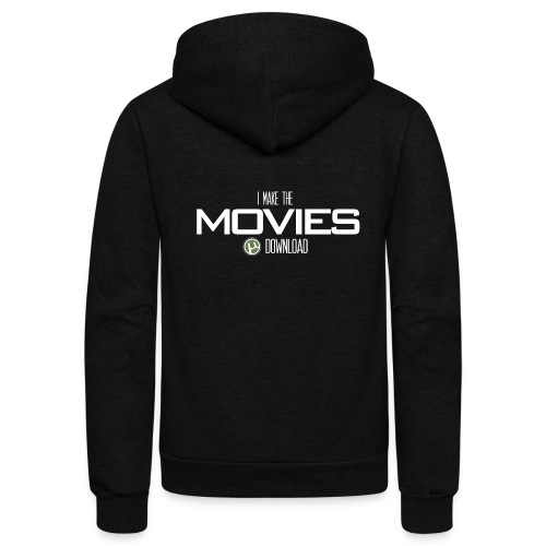 Movie Download - Unisex Fleece Zip Hoodie