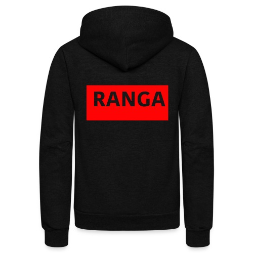 Ranga Red BAr - Unisex Fleece Zip Hoodie